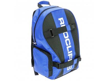 Turistický batoh, sportovní, škola - modrá, 20 l