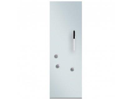 Bílá magnetická deska se skleněným povlakem, poznámka tabule, nástěnná deska, sklo magnetická tabule, ZELLER