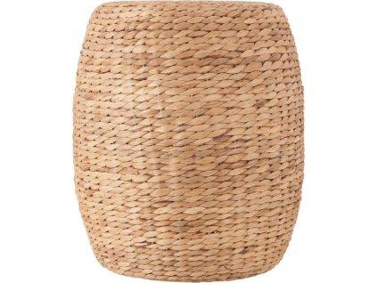 Pletený konferenční stolek, mořská trava - O 35 cm, výška 40 cm