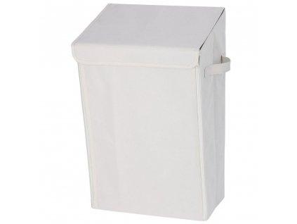 WENKO mycí koš s víkem pro magnet 30 l, nástěnné koupelnové nádobě Turbo-Loc