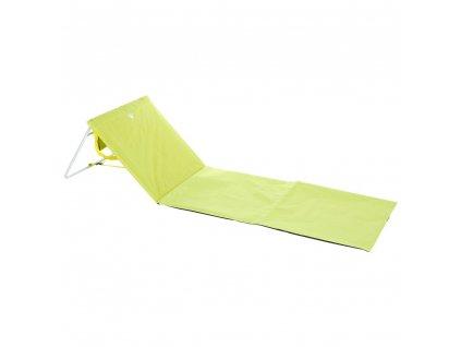 Tlustá zelená plážová podložka, 54x160 cm