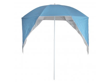 Plážový deštník s funkcí ochrany proti větru, 160x118x113 cm
