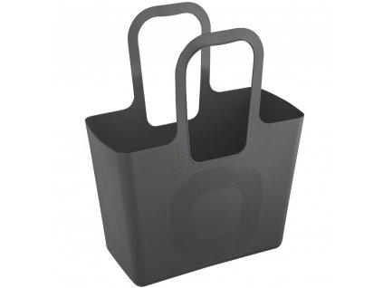 Multifunkční nákupní taška, pláž TASCHE XL - tmavě šedá, KOZIOL
