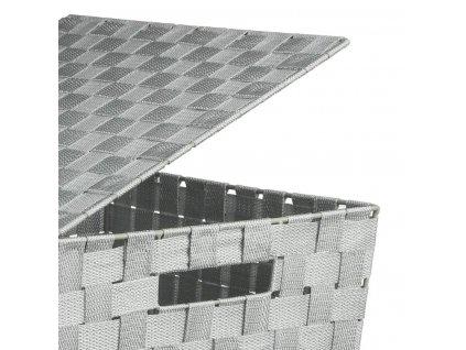Praktický koš na prádlo z polyestru, 53x33x33 cm
