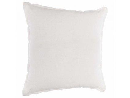 """Bílý dekorativní polštář, lehký """"INLEILAin"""" 40x40cm"""