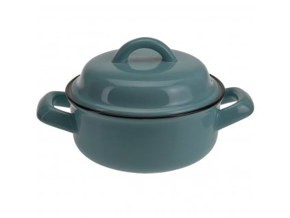 Keramická nádoba s víkem, tepelně odolná miska, 550 ml