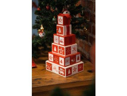 Adventní kalendář Pyramid, 24 dárkových krabiček