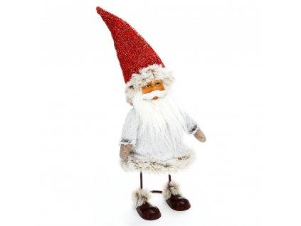 Obrázek s motivem Santa Claus na kovové konstrukci