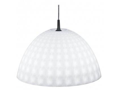 Bílá lampa z palstu STELLA, 43,5x24 cm, KOZIOL
