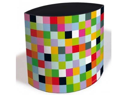 Odpadkový koš z lepenky, vysoce kvalitní kbelík v novém stylu