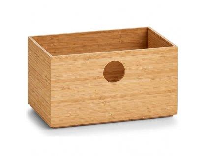 Bambusová krabice s otvorem - pro ukládání drobností - ZELLER