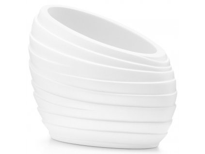Plastová nádoba, pohár pro ukládání zubních kartáčků.