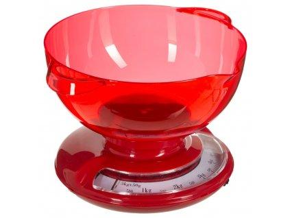 Potravinová váha s velkou mísou a indikátorem, vintage kuchyňské spotřebiče - SECRET de GOMURME
