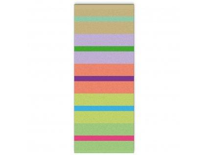 Bavlněný ručník, vysoce kvalitní výrobek v intenzivních barvách.