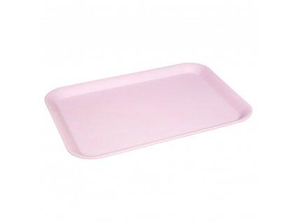 Melaminový kuchyňský podnos HESTIA, 43x32 cm, pastelově růžová