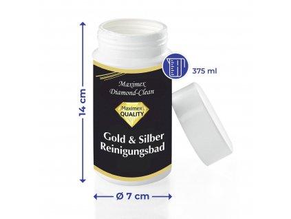 Čistící prostředek na zlato a stříbro DIAMOND CLEAN, WENKO