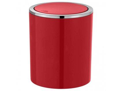 Koupelnové odpadní koš Swing 2l, barva červená