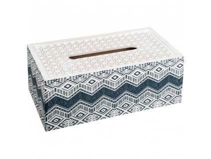 Dekorativní krabička na kapesníky OCAAN, kontejner, skladovací box