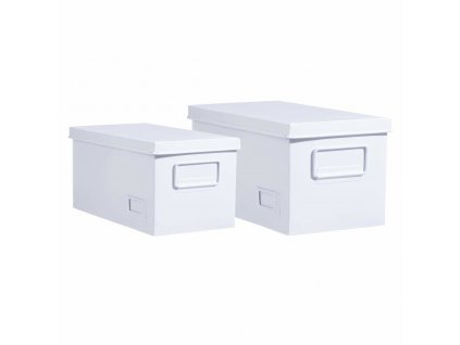 Sada 2 schránek na dokumenty, skladovací kontejnery, 2 ks v Compellent