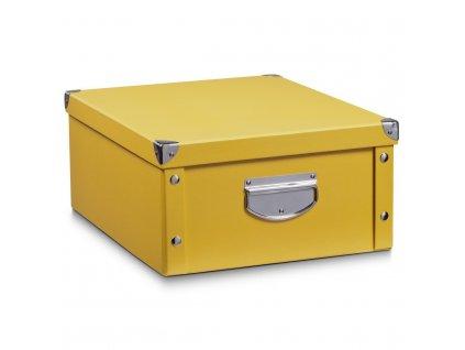 Box pro skladování, 40x33x17 cm, barva mango, ZELLER