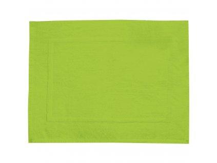 Koberec do koupelny, TERRY PARADISE, barva zelená, 70 x 50 cm, WENKO