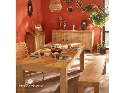 Africká maska 42 cm, etnická výzdoba