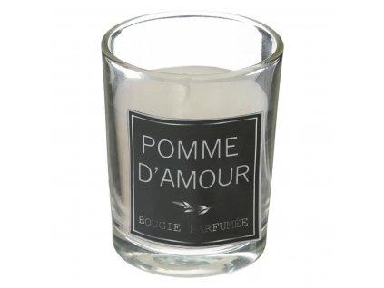 Aromatická sada s tyčinkami a svíčkou, barva bílá