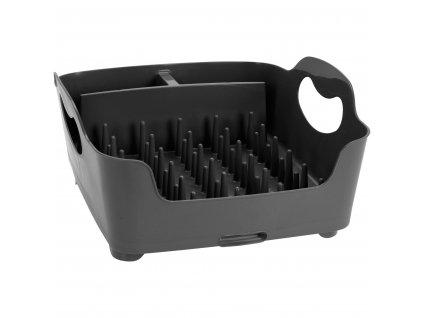 Držák na nádobí a příbory, 37x32x16 cm, šedá