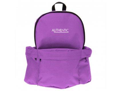 školní batoh pro mládež AUTHENTIC, 15 l, fialová barva
