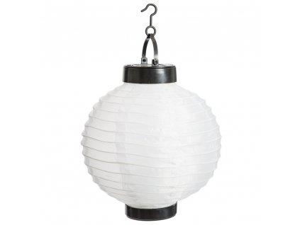LED solární lampa závěsné svítidlo zahradní lucerna