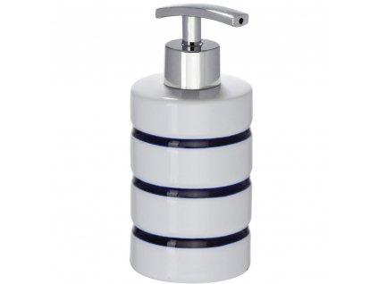 Námořní dávkovač mýdla, barva bílá, WENKO