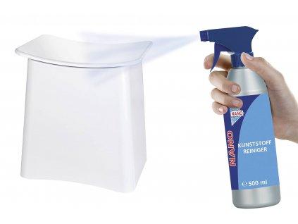 Plastový čistič NANO 500 ml, WENKO