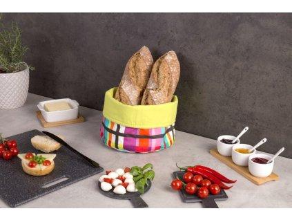 Bavlněný koš na chléb, dekorativní sáček na chléb v novém stylu