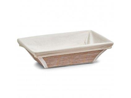 Košík na chléb, chléb, ovoce, babmus - 30x20x9, ZELLER