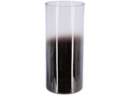 FUME vysoká dekorativní váza, 30 cm, sklo