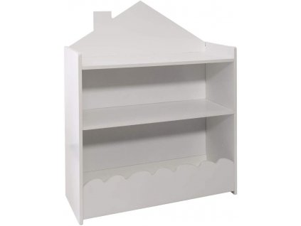 Bílá dětská knihovna, bílá barva