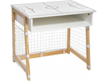 Dětský psací stůl ve tvaru fotbalového cíle, 58 x 46 x 52 cm