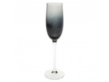 SARAH Champagne brýle 210 ml, Šedá