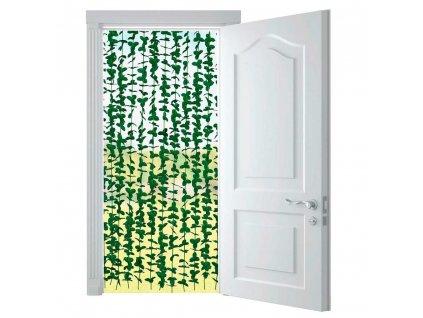 Dekorativní závěs na dveře LIGHT, 90 x 190 cm, VENKO