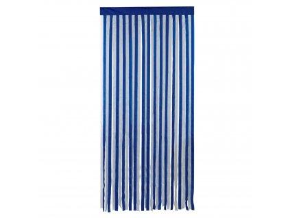 Závěs pro dveře pokoje, 90 x 200 cm, bílá a modrá, WENKO