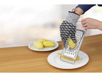 Tepelně odolné ochranné rukavice, 2v1, pánské, WENKO