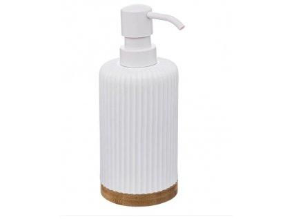 Dávkovač mýdla NATUREO, bílý
