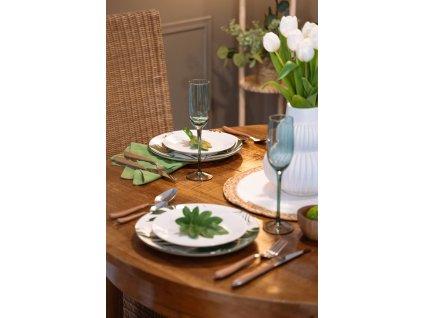 Bavlněné ubrousky, 3 ks, khaki, 40 x 40 cm