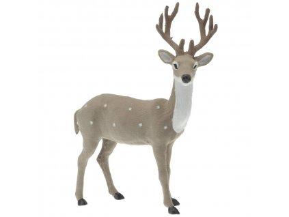 Dekorativní figurka jelena, 37 cm