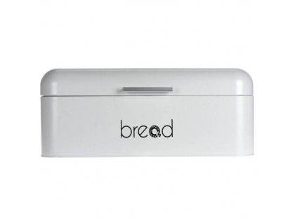 Kovová chlebovka MINIMAL, bílá
