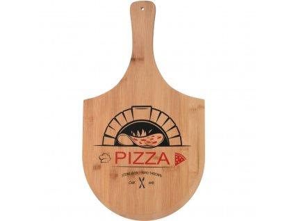 Bambusové prkénko na pizzu
