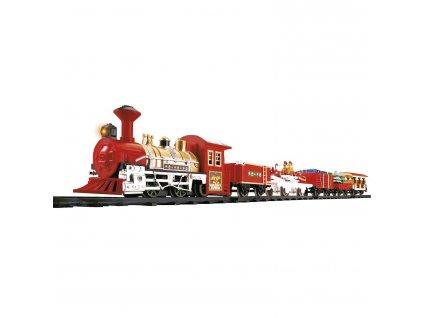Elektrický vlak vánoční