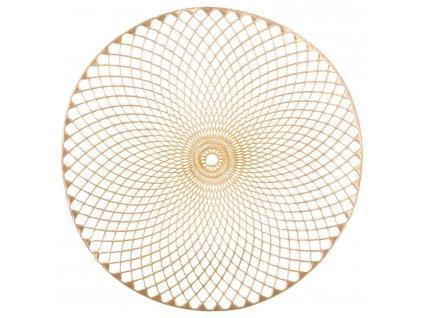 Prostírání, zlatá barva,  Ø 38 cm