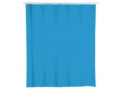 Sprchový závěs, PEVA, barva modrá, 180x200 cm, WENKO