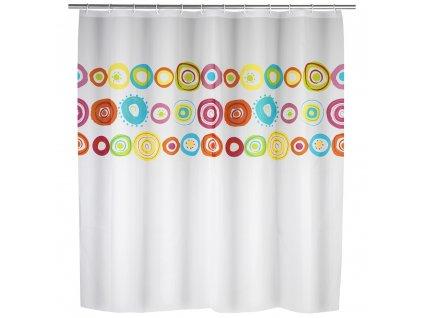 Sprchový závěs Colorful, PEVA, 180x200 cm, WENKO